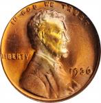 1936 Lincoln Cent. FS-102. Doubled Die Obverse, Type II. MS-65 RD (PCGS).