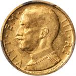 ITALY. 50 Lire, 1933-R Year XI. PCGS MS-62 Secure Holder.