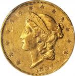 1859 Liberty Head Double Eagle. AU-50 (PCGS).