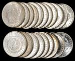 Lot of (500) 1884-O Morgan Silver Dollars. Average MS-60 to MS-63.