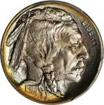 1913 Buffalo Nickel. Type I. MS-68 (PCGS).