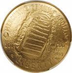 2019-W Apollo 11 50th Anniversary Gold $5. MS-70 (PCGS).