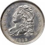 1832 Capped Bust Dime. JR-7. Rarity-3. MS-66 (NGC).