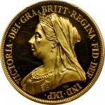 GREAT BRITAIN. Ten Piece Proof Set, 1893. PCGS PROOF-63 DEEP CAMEO to PROOF-64 DEEP CAMEO Secure Hol