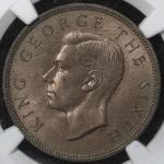 NEW ZEALAND ニュージーランド Penny 1949  NGC-MS65RB UNC,KM-21 ジョージ6世 UNC