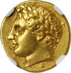 SICILY. Syracuse. Agathocles, 317-289 B.C. AV Decadrachm (4.28 gms), ca. 317-310 B.C.
