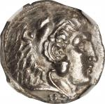 MACEDON. Kingdom of Macedon. Philip III, 323-317 B.C. AR Tetradrachm, Sidon Mint, ca. 319/18 B.C. NG