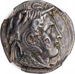 PTOLEMAIC EGYPT. Ptolemy I Soter, 323-283 B.C. AR Tetradrachm (14.68 gms), Alexandreia Mint, ca. 311