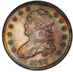 1828 Capped Bust Quarter. Browning-1. Rarity-1. Mint State-65 (PCGS).PCGS Population: 4, 1 finer (MS