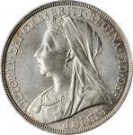 GREAT BRITAIN. Crown, 1895. London Mint. Victoria. PCGS MS-62 Gold Shield.