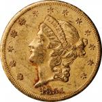 1854-S Liberty Head Double Eagle. Extremely Fine, Surface Damage (Uncertified).