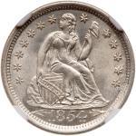 1854-O Liberty Seated Dime. NGC MS67