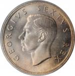 SOUTH AFRICA. 5 Shillings, 1948. PCGS PROOFLIKE-67 Gold Shield.
