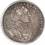 RUSSIA. Ruble, 1710(1/0). Peter I (the Great) (1689-1725). PCGS VF-35 Secure Holder.