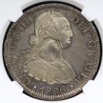 GREAT BRITAIN George III ジョージ3世(1760~1820) Dollar ND(1799~1804)  NGC-MS62 AU/UNC