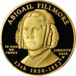 2010-W First Spouse Gold Bullion Coin. Abigail Fillmore. Proof-69 Deep Cameo (PCGS).