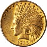 1913 Indian Eagle. MS-63 (PCGS).