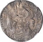 NETHERLANDS. Zeeland. Lion Daalder, 1599. NGC AU-55.
