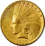 1910-S Indian Eagle. MS-62 (PCGS).