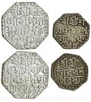 Assam, Śiva Simha (1714-44), octagonal Rupee, 11.32g, Assamese script, Sk. 1654, year 18, no qu