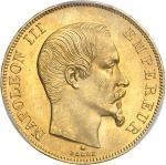 FRANCE Second Empire / Napoléon III (1852-1870). 50 francs tête nue 1859, BB, Strasbourg.