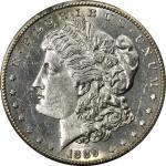 1889-CC Morgan Silver Dollar. AU Details--Filed Rims (PCGS).