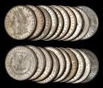 Lot of (500) 1881-O Morgan Silver Dollars. Mostly Extremely Fine to About Uncirculated.