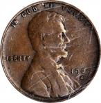 1909-S Lincoln Cent. V.D.B. VF-20 (PCGS).