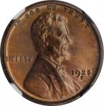 1925-S Lincoln Cent. MS-65+ RB (NGC).