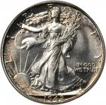 1942 Walking Liberty Half Dollar. Proof-67 (PCGS). CAC.
