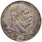 Foreign coins;GERMANIA Sassonia Altenburg - Ernst I (1853-1908) 5 Marchi 1903 Cinquantenario - KM 14