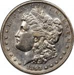1893-S Morgan Silver Dollar. AU-50 (NGC).