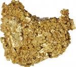 Gold Nugget. Approximately 50 mm x 35 mm x 13 mm. 79.3 grams.