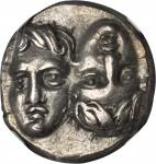THRACE. The Danubian District. Istrus. AR Drachm (5.65 gms), 4th Century B.C.