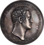 RUSSIA. 100th Anniversary of the St. Petersburg Academy of Sciences Silver Medal, 1826. PCGS SPECIME