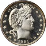 1895 Barber Quarter. Proof-68 Cameo (PCGS). CAC.
