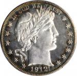 1912 Barber Half Dollar. Proof-64 (PCGS).