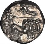 SICILY. Siculo-Punic. AR Tetradrachm (17.13 gms), ca. 350-305 B.C. NGC MS, Strike: 4/5 Surface: 5/5.
