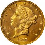 1888-S Liberty Head Double Eagle. MS-63 (PCGS).