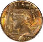 1922 Peace Silver Dollar. MS-64 (PCGS).
