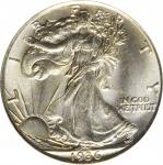 1936 Walking Liberty Half Dollar. PDS Set. MS-65 (PCGS).
