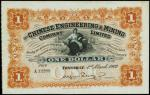 CHINA--FOREIGN BANKS. Chinese Engineering & Mining Company. $1, 1.3.1902. P-S246.