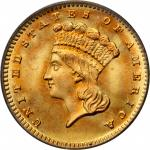 1880 Gold Dollar. MS-68 (PCGS). CAC.
