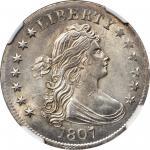 1807 Draped Bust Quarter. B-1. Rarity-2. MS-64+ (NGC).