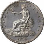 1879 Trade Dollar. Proof. Unc Details--Environmental Damage (PCGS).