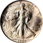 1920 Walking Liberty Half Dollar. MS-64 (PCGS). CAC.