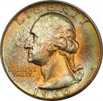 1960-D Washington Quarter. MS-66 (PCGS).