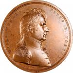 1814 Major General Peter B. Porter Medal. Bronze. 65 mm. Julian MI-18. Mint State.