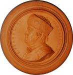 1772 Benjamin Franklin Plaque by Nini. Greenslet GM-15, Margolis-17, Betts-247. Red-Brown Terra Cott