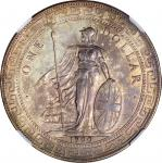 Great Britain, silver trade dollar, 1900-C, NGC AU58 and scarcePlease click on the following link to
